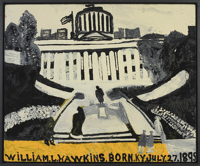 William Hawkins, 'OHIO STATE HOUSE #2', 1985