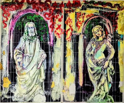 Norma de Saint Picman, 'Beatrice and Wiseman', 2020