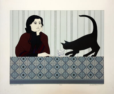Will Barnet, 'MEDITATION AND MINOU', 1980