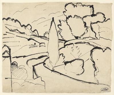 André Derain, 'Paysage près de Martigues', c.1908