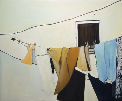 Beverly McIver, 'Matera Clothesline, Silence', 2018
