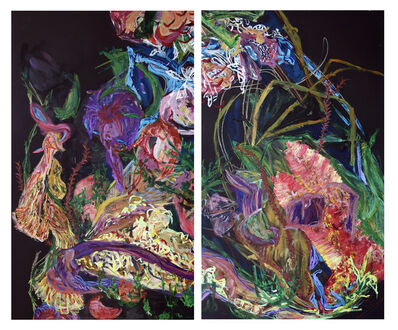 Erin Treacy, 'Giving of Two (diptych)', 2020