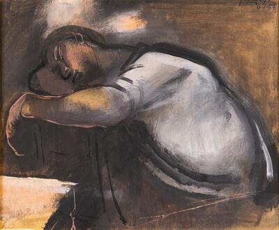 Franco Francese, 'Bracciante che dorme', 1956