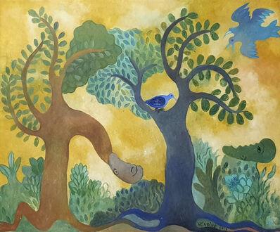 Manuel Mendive, 'El espíritu, la naturaleza y el cuerpo', 2015