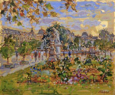 Bruno Zupan, 'Tuileries, July Afternoon '