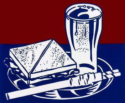 Roy Lichtenstein, 'Sandwich and Soda (Corlett 35)', 1964