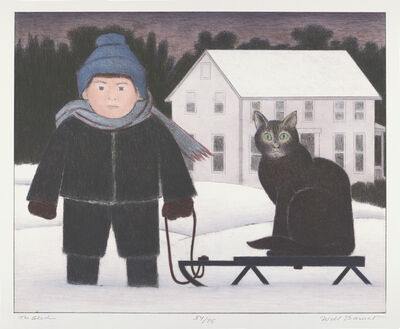 Will Barnet, 'The Sled', 2002