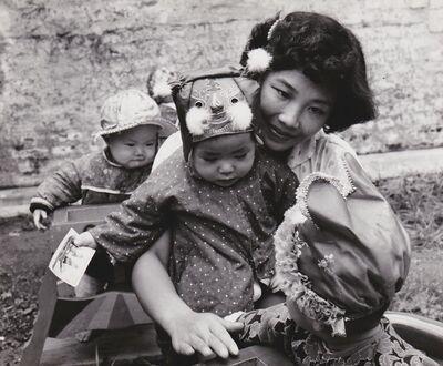 Agnès Varda, 'Chine, les chapeaux au jardin d'enfants 2', 1957
