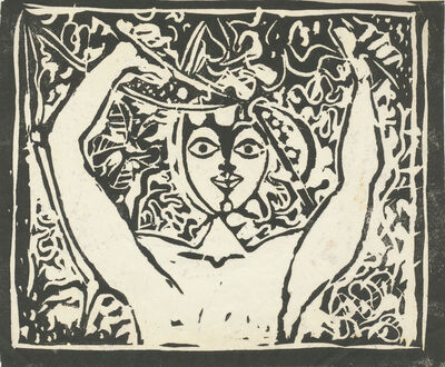 John Craxton, 'Boy in a Fig Tree', ca. 1950