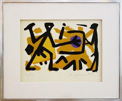 A.R. Penck, 'Operator', 1990