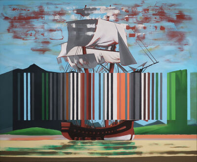 Darren Coffield, 'Bark Endeavour', 2019
