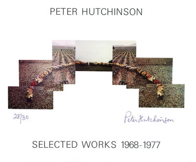 Peter Arthur Hutchinson, 'Selected Works 1968-1977', 1977
