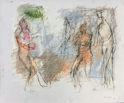 Thaddeus Radell, 'Three Figures', 2019