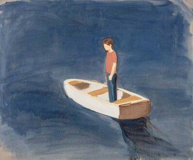 Gideon Rubin, 'Boy in Boat', 2020