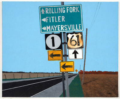 Rolland Golden, 'Lost in Mississippi', 2012