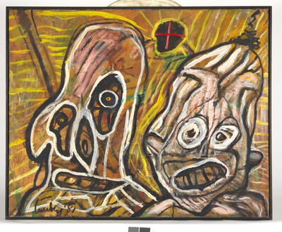 Lucebert, 'geboorte van een tiran', 1981
