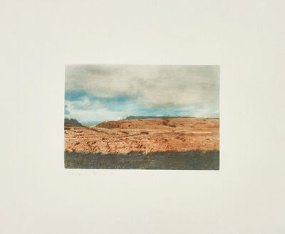 Gerhard Richter, 'Kanarische Landschaften I (Canary Landscapes I): one plate', 1971