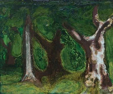 Zdzislaw Ruszkowski, 'Birch Tree (Tree Trunks)', 1963