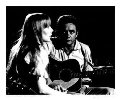 Graham Nash, 'Joni Mitchell and Johnny Cash, 1969', 2016