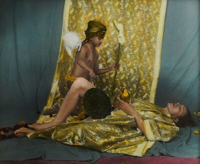 Luigi Ontani, 'Annunciazione Industana', 1993