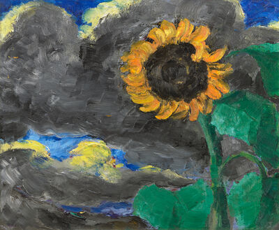 Emil Nolde, 'Sunflower', 1928