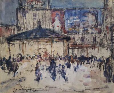 John Rankine Barclay, 'Paris Street Scene', 1921