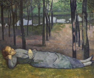 Émile Bernard, 'Madeleine in the Bois d'Amour', 1888