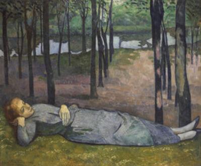 Émile Bernard, 'Madeleine in the Bois d'Amour', 1888