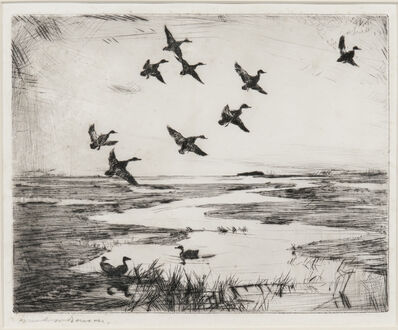 Frank Weston Benson, 'Ipswich Marshes', 1926