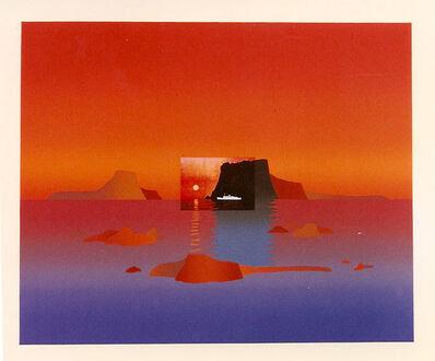 Jean Michel Folon, 'Je vous ecris des cyclades', Unknown