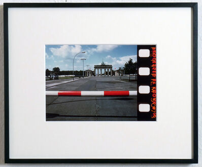 Philip Pocock, 'Branderburger Gate, East Berlin', 1982