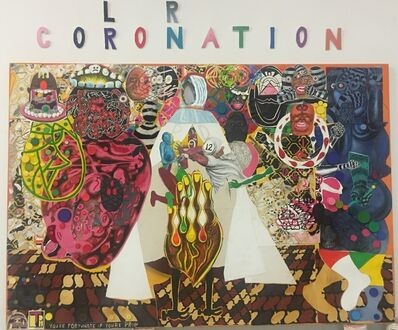Trenton Doyle Hancock, 'Coloration Coronation', 2016