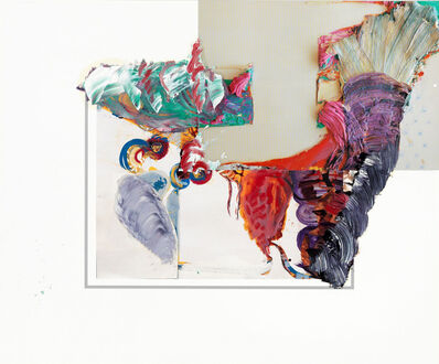 Pia Fries, 'torino D', 2015