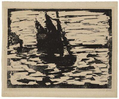 Emil Nolde, 'Segelboot', 1910