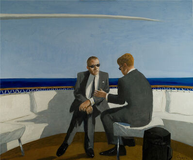 Julio Larraz, 'Soft Rumors from the Gulfstream', 2009
