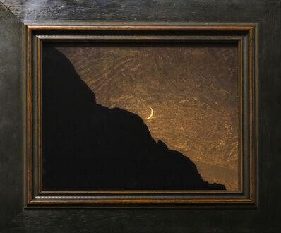 Kate Breakey, 'Setting Moon Safford Peak'