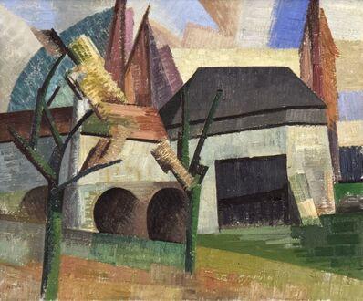 Auguste Herbin, 'Moulin à Creteil vu du Quai', 1911