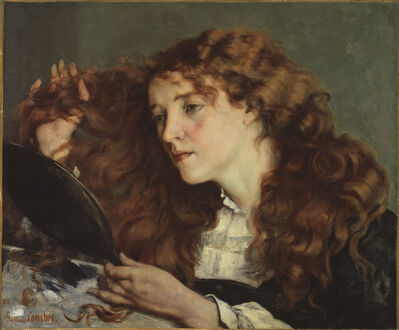 Gustave Courbet, 'Jo, The Beautiful Irish Girl', 1866