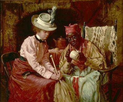 Harry Roseland, 'Reading Tea Leaves', 1899