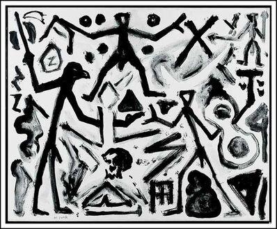 A.R. Penck, 'Herausforderung', ca. 2005