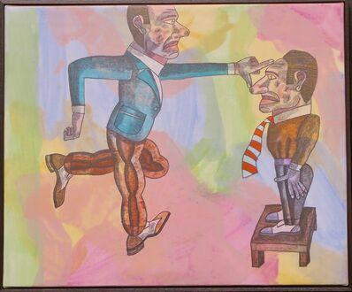 Antonio Seguí, 'Tomando la medida', 2004