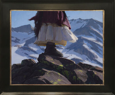 Jeremy Lipking, 'Wind and Snow', 2017