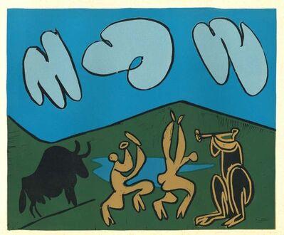 Pablo Picasso, 'Bacchanale au Taureau Noir', 1962