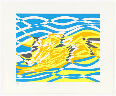 Stanley William Hayter CBE, 'Aquaria Series D', 1970