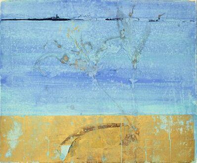 Makoto Fujimura, 'Silver Lilies Golden Earth', 1997