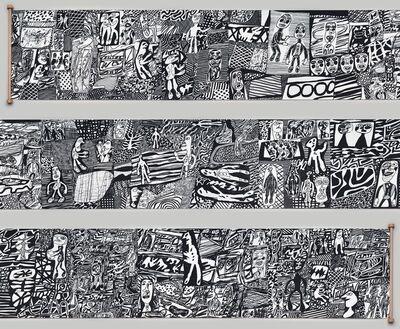 Jean Dubuffet, 'Parcours', 1981