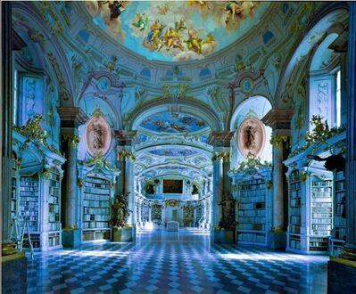 Massimo Listri, 'Biblioteca di Admont, Austria', 1994