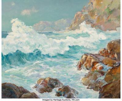 Dedrick B. Stuber, 'Crashing Waves'