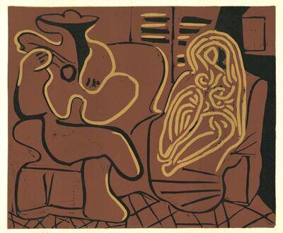 Pablo Picasso, 'Femme dans un Fauteil et Guitariste', 1962