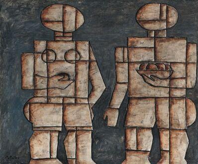 Manuel Pailós, 'Pareja Constructiva', 1950